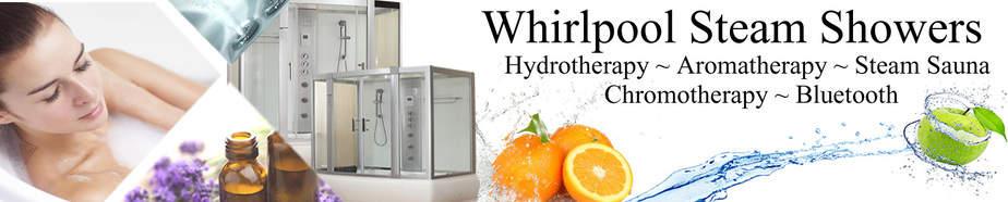 whirlpool steam shower banner
