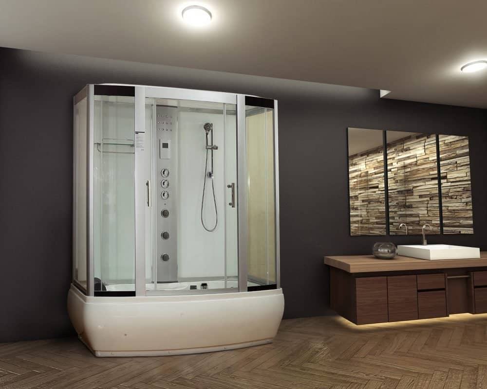 steam shower installation